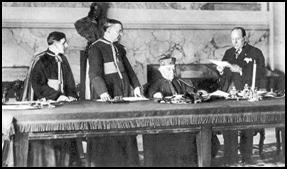 Signing of the concordat